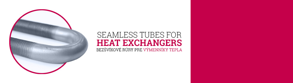 New products for heat exchangers - low fin tubes, U bend tubes